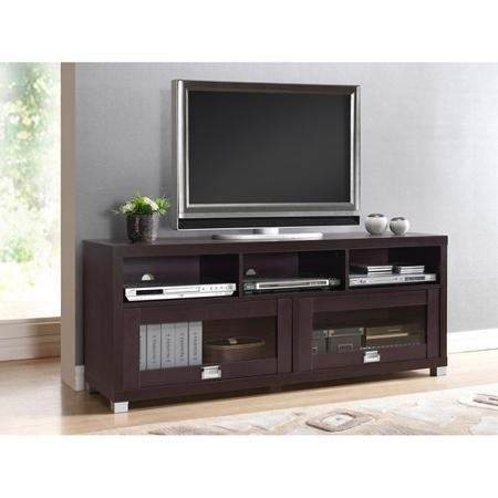 Durbin Espresso Tv Stand, for Tvs up to 65'