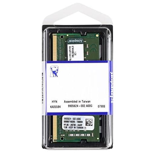 Kingston Technology KCP424SS6/4 4GB DDR4 2400MHz módulo de - Memoria (4 GB, 1 x 4 GB, DDR4, 2400 MHz, 260-pin SO-DIMM… 2