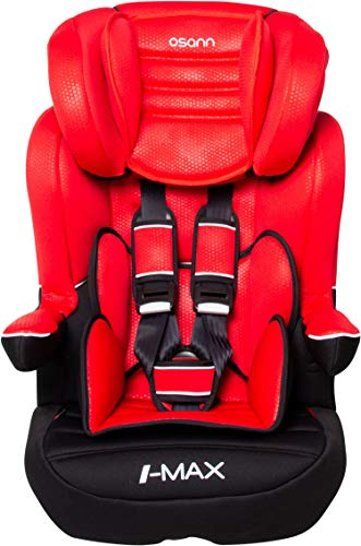Osann Kinderautositz I-Max SP Gruppe 1/2/3 (9-36 kg) Luxe Rouge