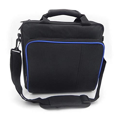 N/Z Tasche Für Playstation 4 Slim, Transporttasche/Schutztasche/Tragetasche für Playstation 4 Konsole, Grosse Kapazität,Leder Stoßfest