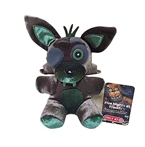 JIAL Peluche Aburrido FNAF Cinco Noches en Freddy'S Fox Foxy Cuddly Animal Peluche Cuddly Animals Doll Niños Niños 18cm Chongxiang