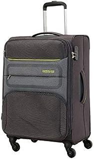 حقيبة محمولة لحقائب السفر تشيلسي الناعمة من أميريكان توريستر، أسود، 55 سم