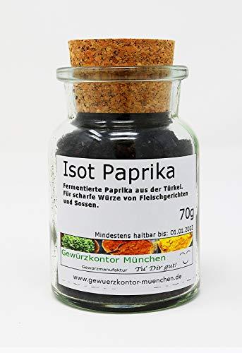 ISOT Paprika, ISOT biber, URFA biber 70g im Glas Gewürzkontor München