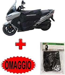 TG.L TELO COPRIMOTO IMPERMEABILE FELPATO MOTO KYMCO DINK 200 I DD COPRI SCOOTER COVER