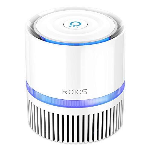 KOIOS Air Purifier, Desktop Air Filter Cleaner with 3-in-1 True...
