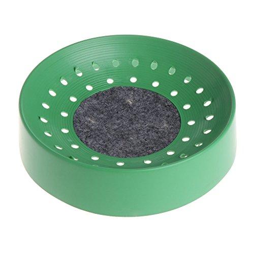 XTYaa Pigeon Supplies Kunststoff-Entfeuchtungsmatte für Vögel, Eierbecken, Nistschale