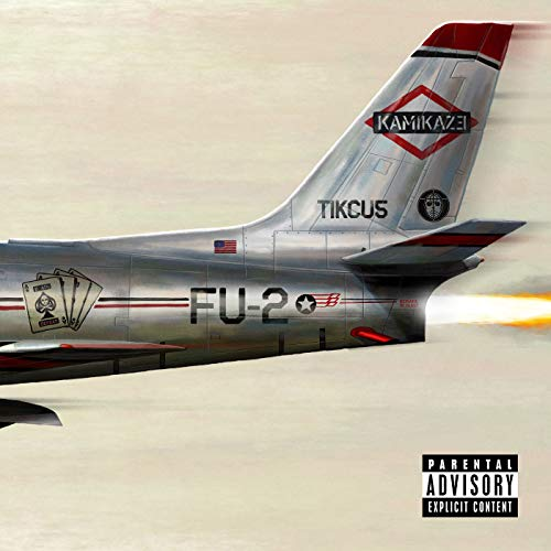 Lost Posters Album Cover Poster Thick Eminem: Kamikaze Limited 2018 giclee Record LP Reprint #'d/100!! 12x12