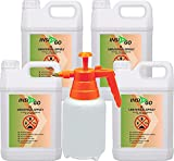 INSI GO 4x5L+2Ltr Sprüher Anti Insekten Spray - Universal Insekten-Spray gegen Insekten, Ungeziefer...