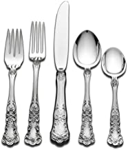 Gorham Buttercup 5-Piece Sterling Silver Flatware Place Set, Service for 1