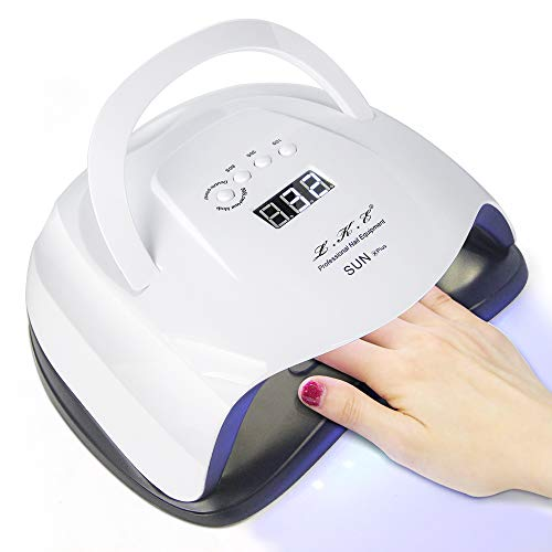 80W LED UV Lamps for Gel Nail Dryer Smart Sensor Nail Curing Light10/30/60/90s Time Easy to...