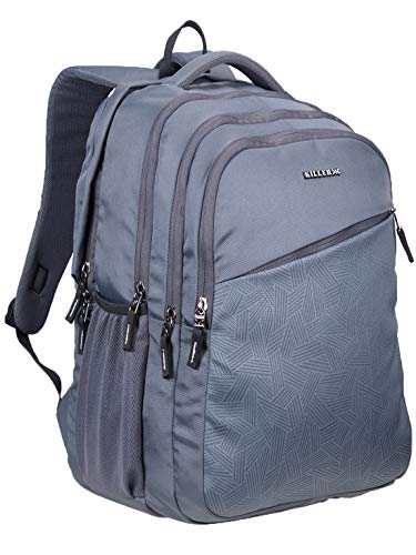 Killer Rugby 41 Liters Grey Water Resistance Polyester Laptop Backpack