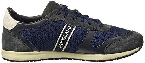 Woodland Men's DNAVY Leather Sneaker-9 UK/India (43 EU) (OGJ 1977116)