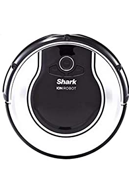 Shark ION RV700 Cordless Self Smart Robot Carpet and Hardwood Floor Vacuum Cleaner with Easy Scheduling Remote and Boundary Strip, Black