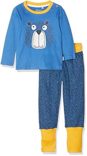 Sigikid Baby-Jungen Pyjama, Zweiteiliger Schlafanzug, Blau (Star Sappire 563), 62