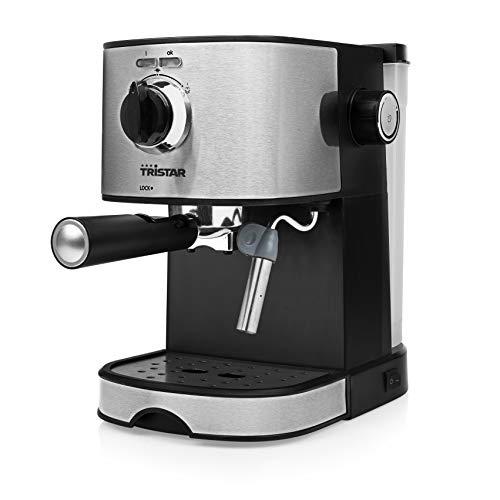 Tristar CM-2275IT Espressomaschine, 850 W, 1,2 Liter, Edelstahl