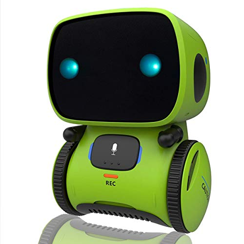 Yoego Kids Interactive Robot Toy, Intelligent Voice Controlled $14.99 (50% OFF)