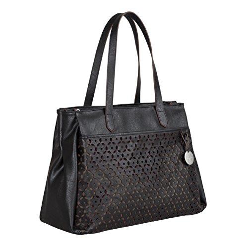 Lässig Tender Tote Bag Wickeltasche/Babytasche inkl. Wickelzubehör, black