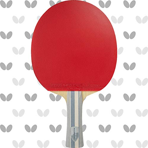 Butterfly Boll Allround Blade & Tackifire Drive Rubber Shakehand Table Tennis Racket | Pro-Line Series | Perfect for Steady, Controlled-Spin Play | Recommended for Advanced Level Players