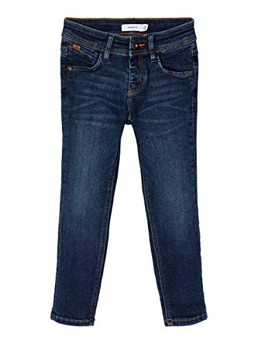 NAME IT Baby-Jungen NMMROBIN DNMBATAY 3404 BRU Pant Bet Jeans, dunkelblau, 92
