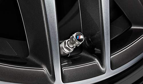 Originale BMW M Performance Luftventil-/Staubschutzkappen für PKW-Reifen, 36122447402, 4 Stück