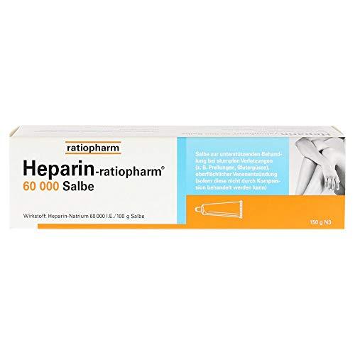 HEPARIN-RATIOPHARM 60.000 Salbe 150 g Salbe