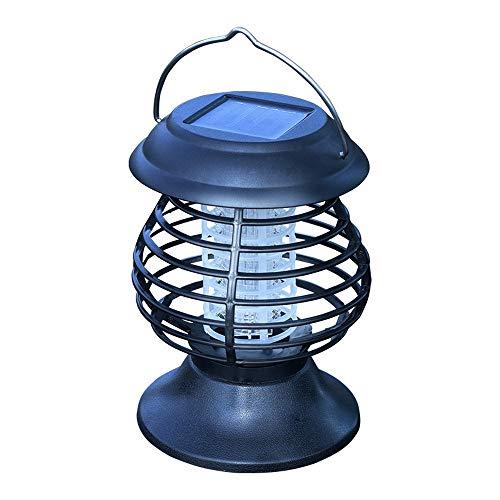Petite lampe solaire portable à suspendre - Anti-moustiques - Lampe d'extérieur étanche - Lampe à suspendre