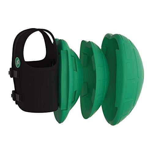 Turtle Pack Schwimmhilfe – verstellbar, stufenweise Größen, multifunktional, für Babys und Kinder, zum Schwimmenlernen, Auftriebshilfe für Anfänger
