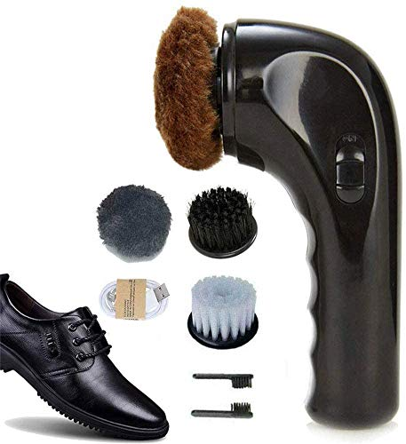 Shoe Buffer Kit Electric Shoe Polisher Brush Shoe Shiner Dust Cleaner...