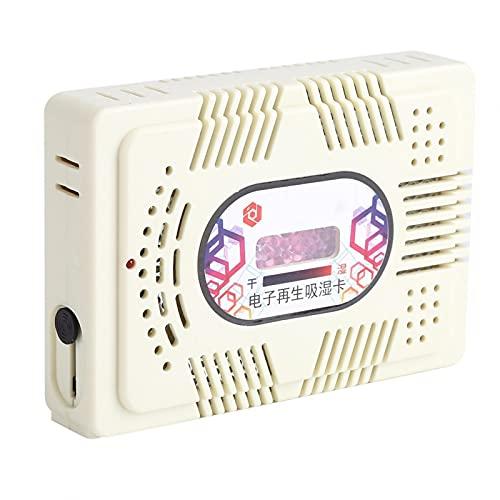 EVTSCAN Mini deshumidificador eléctrico Reutilizable Elimina la Humedad de la habitación del hogar y Absorbe con Gel de sílice