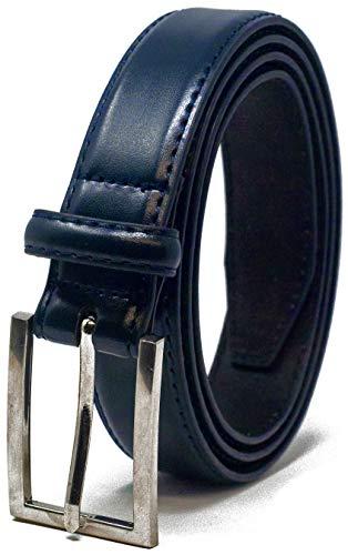 Ashford Ridge Mens 30mm Pantaloni di Cuoio cintura - blu scuro 2XL