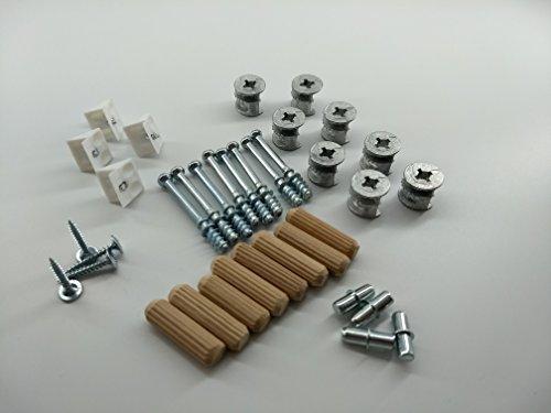 Schrank-Verbinder Möbel-Verbinder Set - Ersatzteile, BASIC