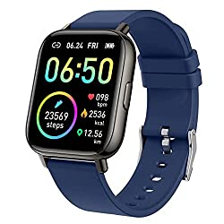 Image of Smart Watch, Fitness Tracker with 1.4inch Full Touch Screen, Smartwatch for Men Women Sleep Monitor Step/Calorie Counter Activity Tracker Stopwatch, IP67 Waterproof Fitness Watch for iOS, Android…: Bestviewsreviews