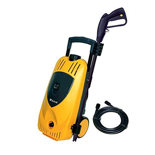 Rico Jet High Pressure Washer Garden Hose Attachment with Soap Dispenser and Brush (Orange)