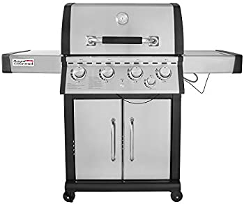Royal Gourmet MG4001 4 Cabinet Gas Grill With Side Burner