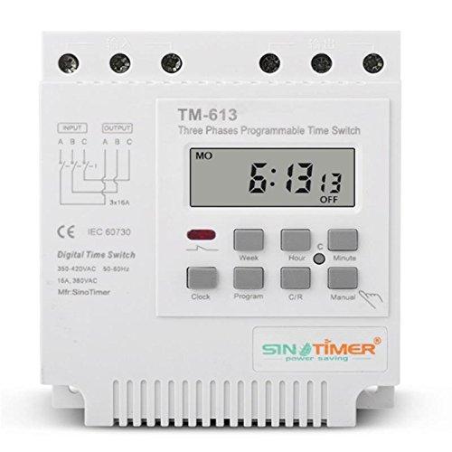 Sinotimer 380V Programmierbarer EsportsMJJ Steuerstrom-Timer-Schalter