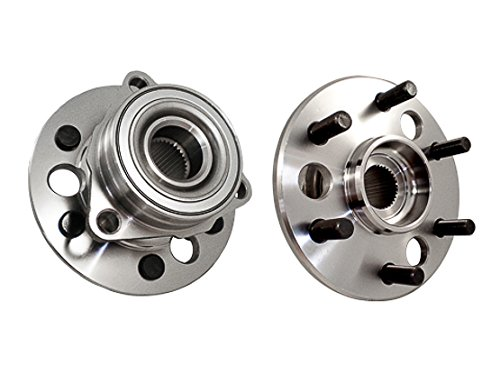 Callahan 515001X2 [2] Pair FRONT Premium Grade [ 6 Lug 4WD ] Wheel Hub Bearing Assemblies [ 515001 ]