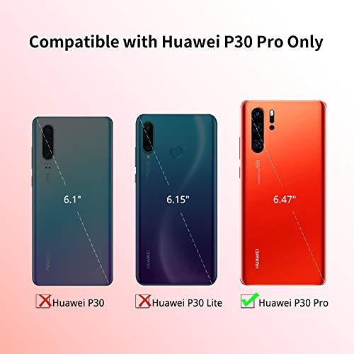 UNBREAKcable Huawei P30 Pro Hülle [stoßdämpfend, Nicht vergilbend] kristallklarer, weicher TPU Handyhülle mit Harter Rückseite aus PC für das Huawei P30Pro – Transparent - 2