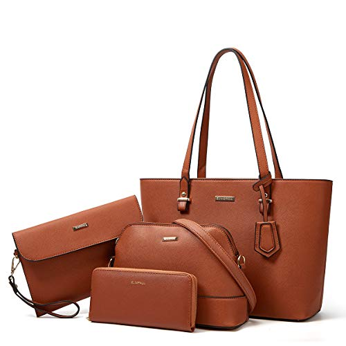 ad: ONLY $21.60  Women's 4-Piece Handbag Set    use code 5X3WWF8M at checkout  …