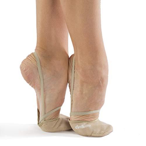 dvillena - Modelo Competicion Africa | Famosa Marca de Punteras de Gimnasia Rítmica Niña y Mujer | Las Puntas que usan grandes Gimnastas Mundiales | Bailarinas Aérobica Deporte Danza Zapatillas Ballet