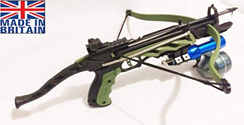 Anglo Arms 80 lbs Mantis Fishing Crossbow with Morris 80 Bolt and Fishing Reel