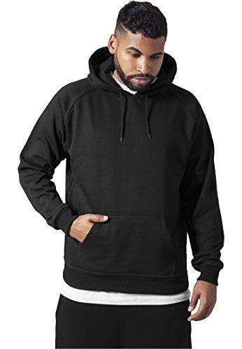 Urban Classics Herren Kapuzenpullover Blank Hoodie, Farbe black, Größe M