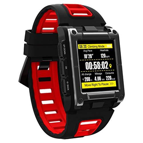 Smart Watch GPS Fitness Tracker Sleep Monitor Touch Screen Kleur Scherm Sport Modi Met Camera Muziek Speler