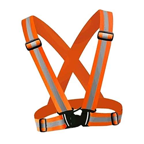 Seguridad Chaleco Chaleco de seguridad reflectante Cinturón de chaleco de construcción brillante con tiras reflectantes Chaleco de alta visibilidad para trabajar al aire libre Homologado