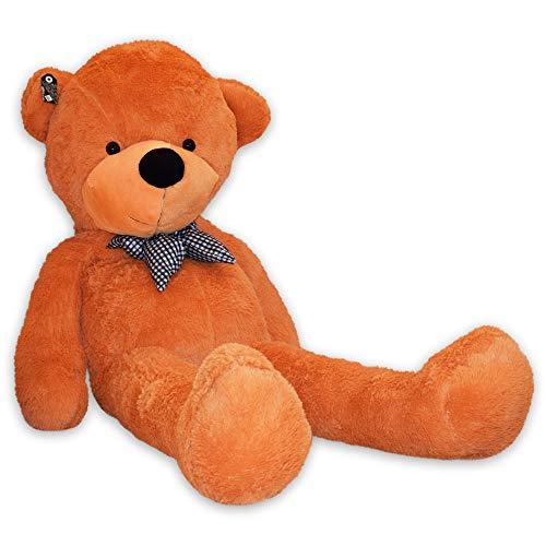 TE-Trend Bär Plüschbär Riesen Kuscheltier XXL Teddybär Riesig Large Teddy Bear Plüschteddy 160 cm Hellbraun