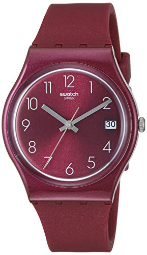 Swatch Worldhood Quartz Silicone Strap, Red -$46.98(33% Off)