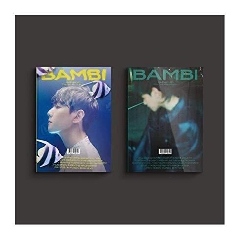 EXO Baekhyun Bambi 3rd Mini Album PhotoBook Version Night Rain Cover CD+1p Poster+2p Folding Poster+88p PhotoBook+24p Lyrics Book+Clear Card+1p Film+1p Post+PhotoCard+Message PhotoCard Set+Tracking