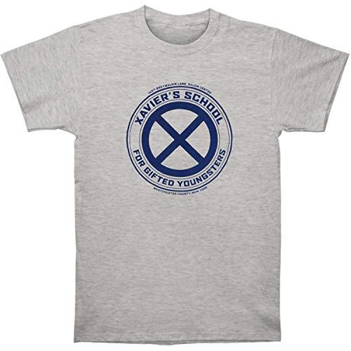 X-Men Xavier's School - Camiseta de manga corta para adulto