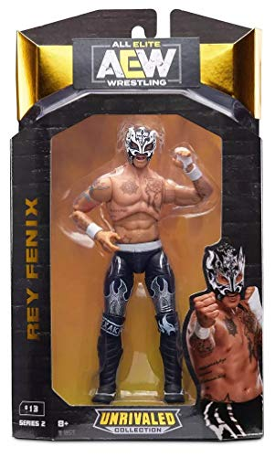 AEW Rey Fenix All Elite Wrestling Unrivaled Figure