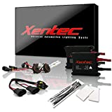 Xentec 9005 6000K HID xenon bulb x 1 pair bundle with 2 x 35W Digital Slim Ballast (Ultra White, also fit HB3, mainly used for high beam)