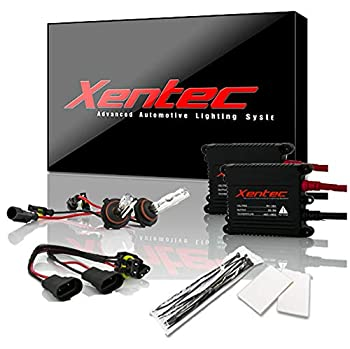 Xentec 9005 6000K HID xenon bulb x 1 pair bundle with 2 x 35W Digital Slim Ballast  Ultra White also fit HB3 mainly used for high beam